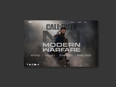 Daily UI #14 Countdown Timer