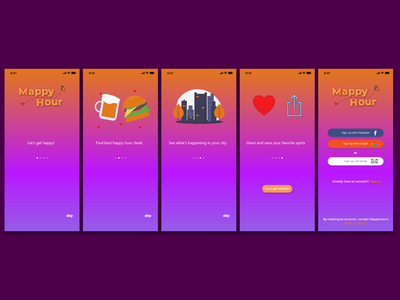 Daily UI #023 Onboading