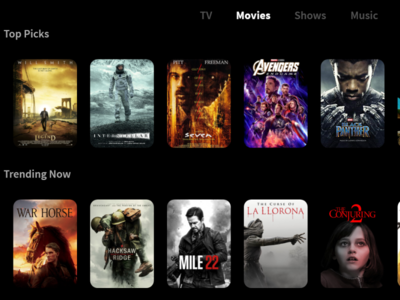 Daily UI #025 TV App