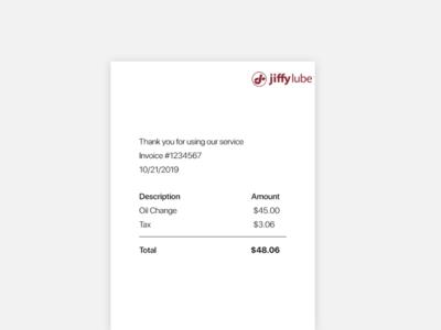 Daily UI  #046 Invoice