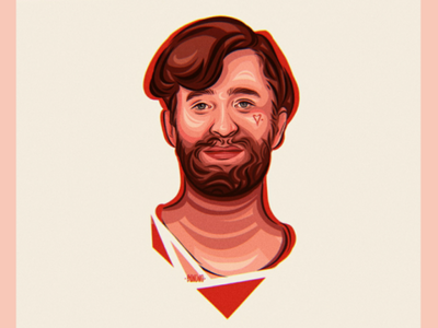 ·DANIEL PLATZMAN portrait· illustrationimaginedragons