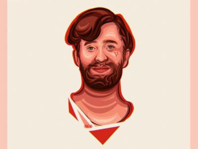 ·DANIEL PLATZMAN portrait·