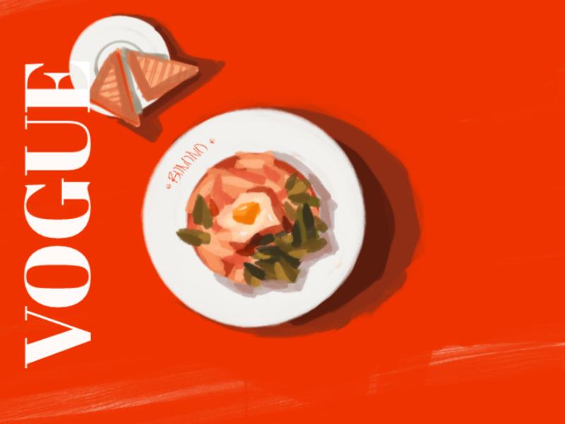 VOGUE: Italy foodporn italianvogue  art