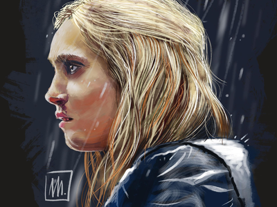 Clarke, from The 100