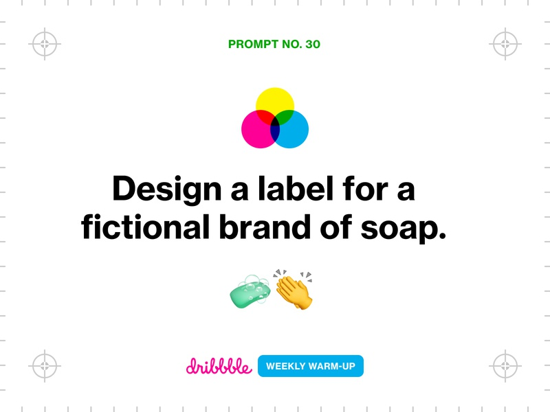 Design a Label for a Brand of Soap branding prompt weekly challenge community learn grow fun packaging design weekly warm-up dribbbleweeklywarmup dribbble