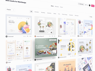 Fresh From Dribbble: Boosted Shots announcement shots ui web community deal boosted fresh new design dribbble