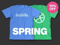 New Tees + Spring Sale