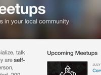 New Meetups