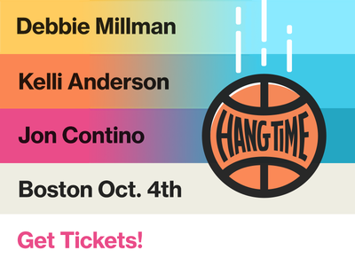 Get in the Zone: Join us for Hang Time Boston!