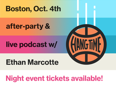 Join us for the Hang Time Boston after-party!