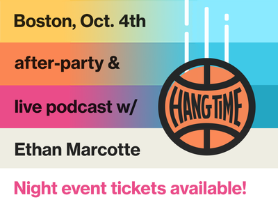 Join us for the Hang Time Boston after-party! dribbble meetup conference