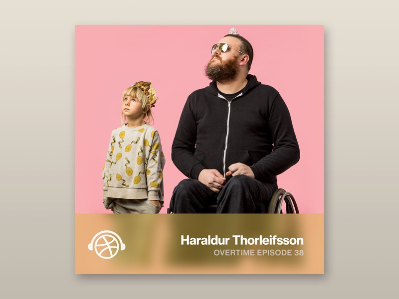 Overtime with Haraldur Thorleifsson inspiration design podcast overtime