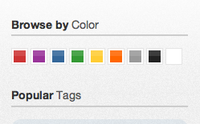 Thinking about ways to improve the Tags page.