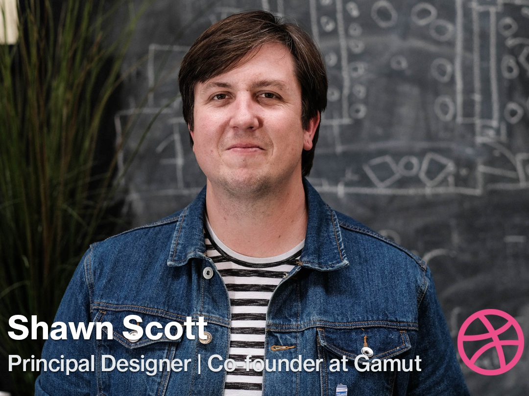 Video Interview: Shawn Scott of Gamut dribbble interview shawn scott gamut