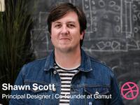 Dribbble Interview: Shawn Scott of Gamut