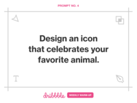 Design an Icon for Your Favorite Animal