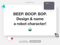 Design a Robot Character