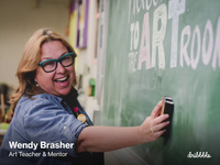 What a middle school art teacher can teach us about creativity