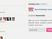 Dribbble Meetups