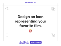 Design an Icon Representing Your Favorite Film
