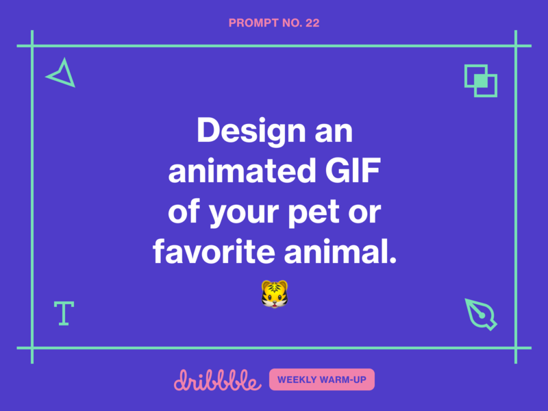 Design an Animated GIF of Your Pet or Favorite Animal