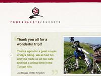 Bike Tours UI Design