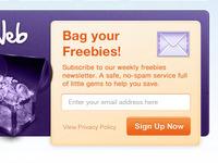 Freebie Website Design
