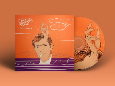 Julio Cortázar Illustration  CD cover