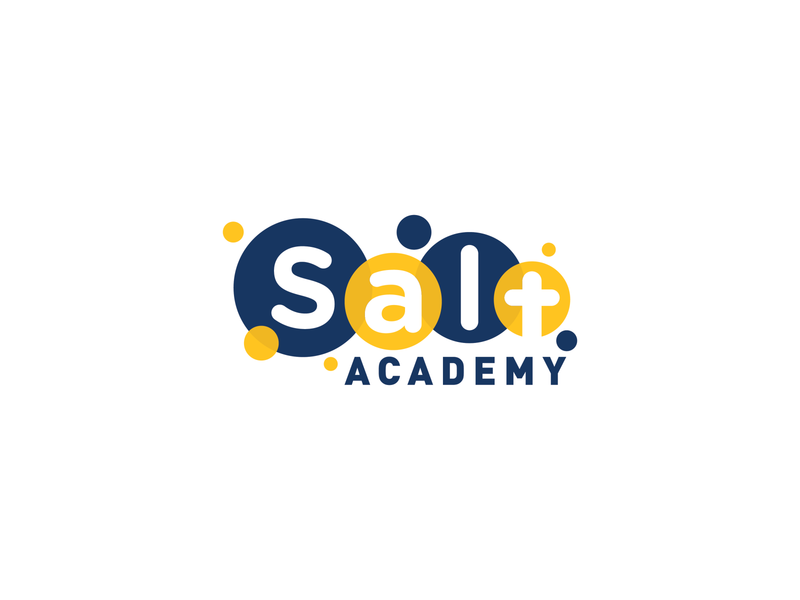 Salt Academy 2019 le dang khoa ldk vietnam saigon logo branding christian logo school logo christian school children kindergarten little cross academy