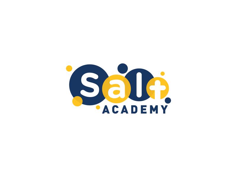 Salt Academy 2019 le dang khoa ldk vietnam saigon logo branding christian logo school logo christian school children kindergarten little cross academy