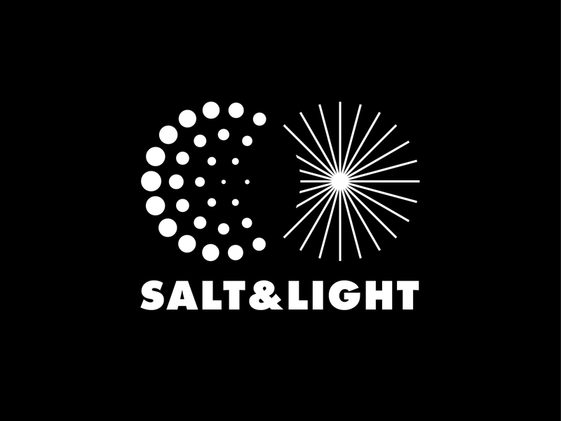 Salt & Light - Opt 01 vietnam saigon ldk le dang khoa 2019 christian branding media logo proposal futura lines dots salt  light light salt