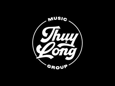 Thuy Long Music Group tlmg thuy long design 2020 ldk le dang khoa old school vynil label music group vintage circle retro branding logo proposal saigon vietnam music