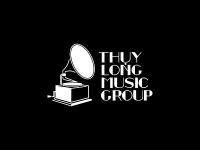 Thuy Long Music Group No2 illustration graphic design tlmg thuy long music vietnam saigon proposal logo branding retro vintage music group label gramophone old school le dang khoa ldk 2020 design