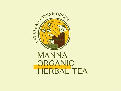 Manna Organic - Herbal Tea variations 2021 organic products straw hat proposal branding logo variations exploration agriculture nong dan vietnamese farmer herbal tea tea herbal manna organic saigon vietnam non la