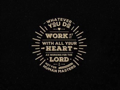 Colossians 3:23