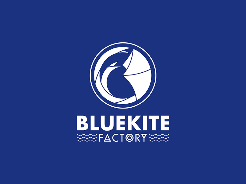 Bluekite Factory final bkf bold design leather handmade factory bluekite kite blue