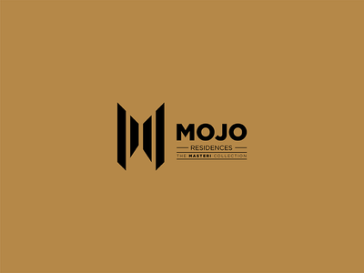 Mojo Proposal 02 black gold mojo proposal elegant premium real estate apartment logo saigon vietnam m