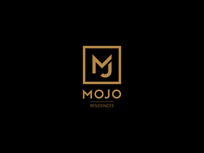 Mojo Proposal 03 m vietnam saigon logo apartment real estate premium elegant proposal mojo gold black