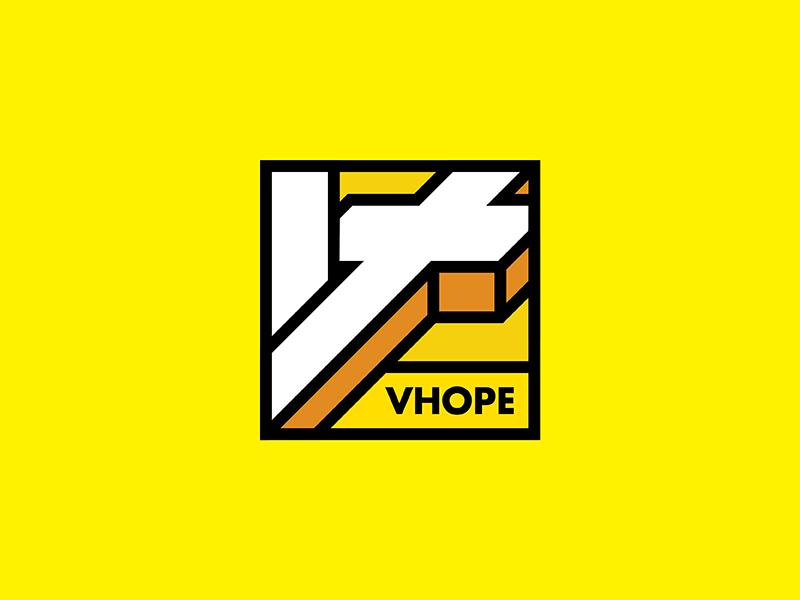 VHOPE Proposal 03 cross box vietnam vhope christian social network channel saigon music digital communication christian channel christian branding