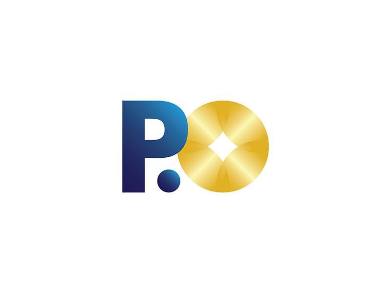 P.O Branding Final coin vision vietnam saigon proposal p.o pearl of orient intersection financial branding blue