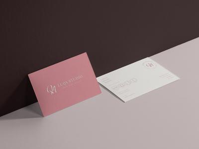 Luqa studio - Business Card Design