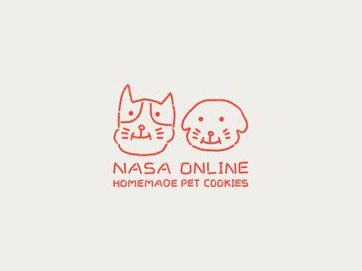 NASA ONLINE - Branding design