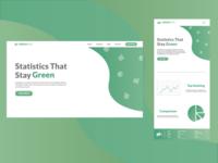 GreenRate - Landing Page Design