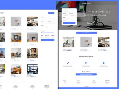 Workspacer - Web Design