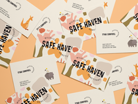 Safe Haven Wildlife Sanctuary Branding