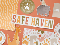 Safe Haven Wildlife Sanctuary Brand Collateral