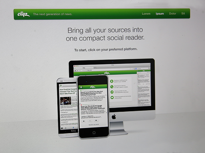 Choose Platform cliqz platform ios android web mac