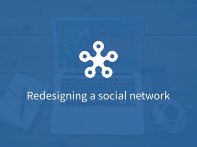Redesigning a social network wkw social network german website case webapp