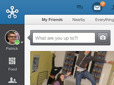Friend Feed wkw social network input website webapp feed
