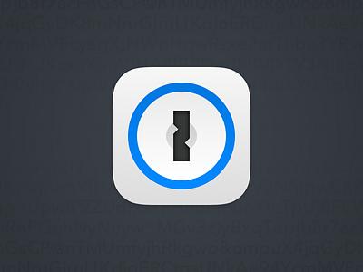 1Password for iOS 7 icon ios 1password lock ios7
